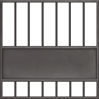 Материал ворот - метал